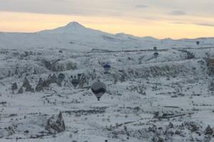 Зимняя Каппадокия. В гостях у сказки