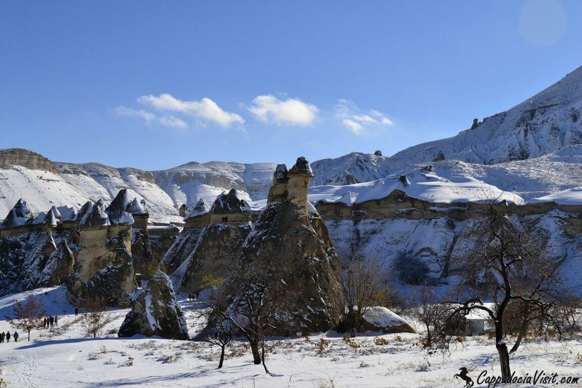Заснеженная долина Пашабаг