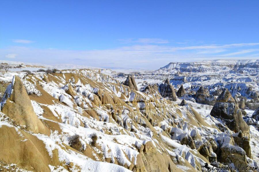 Зимняя тишина в Каппадокии