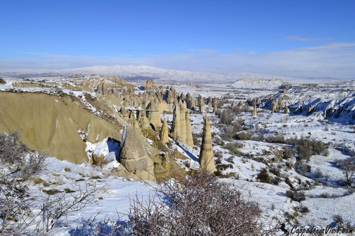 Зимняя сказка в Каппадокии