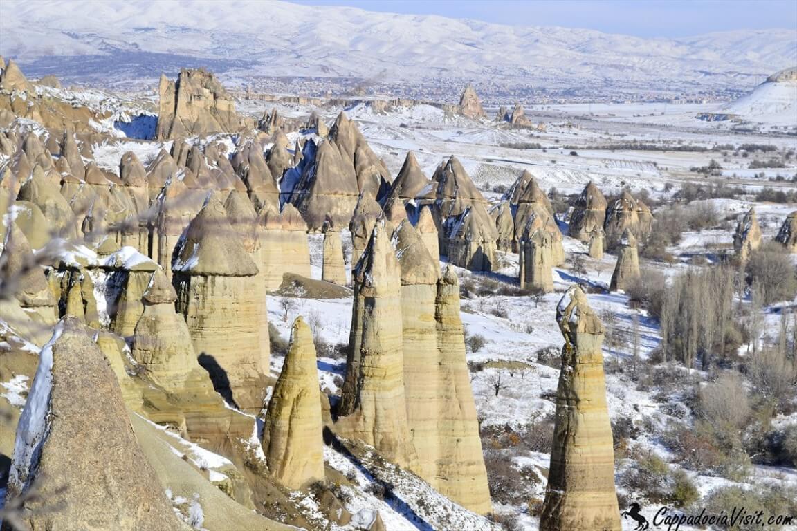 Каппадокия - зимняя сказка