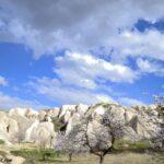 Весенний пейзаж в Каппадокии