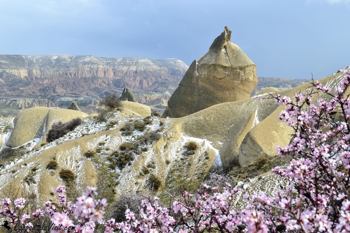 Погода в Каппадокии весной изменчивая и непредсказуемая. Снежная весна в Каппадокии. Конец марта 2013 г.