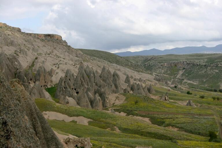 Инопланетный пейзаж Каппадокии