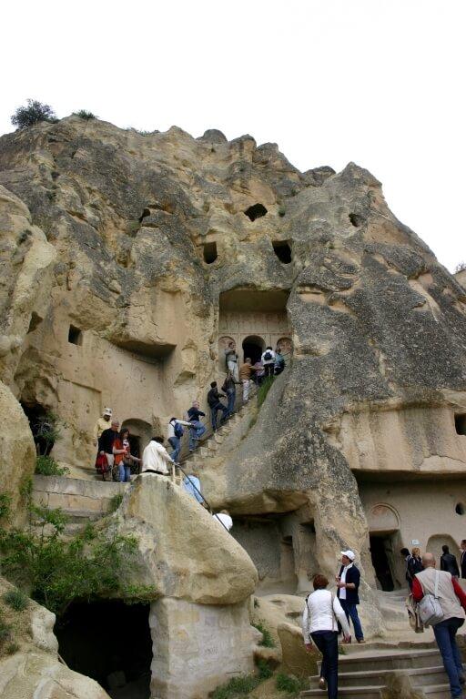 Скальные церкви в музее Гереме