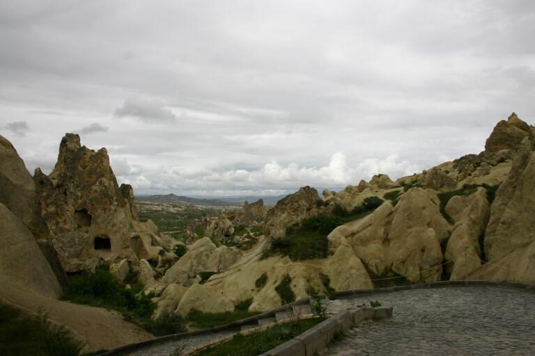 Вид Каппадокии из музея в Гереме