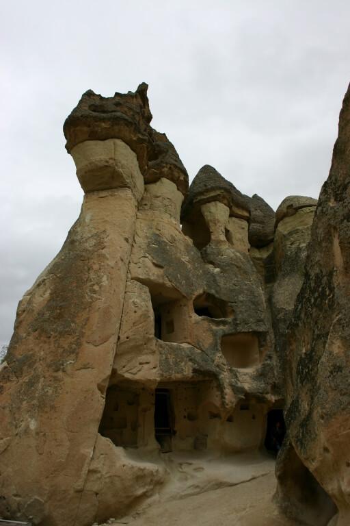 Пашабаг - скальные храмы