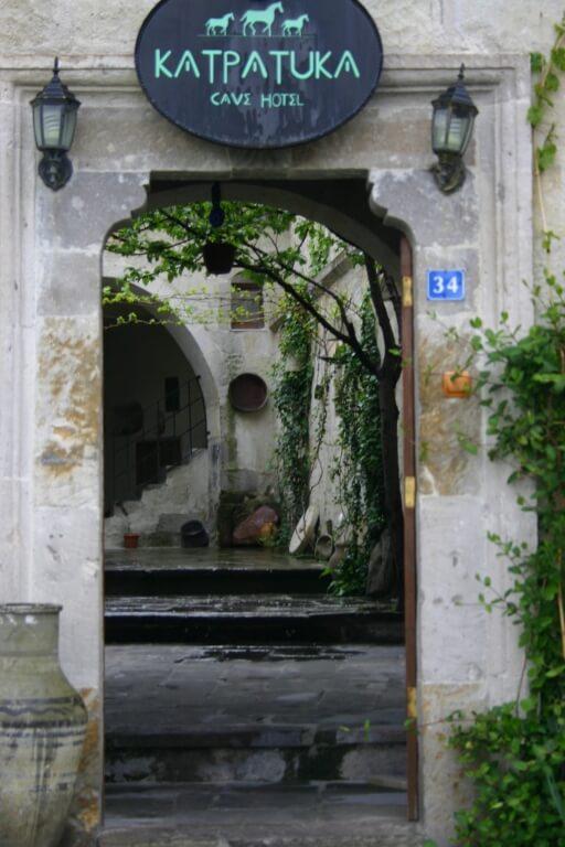Входная Дверь отеля в Гереме