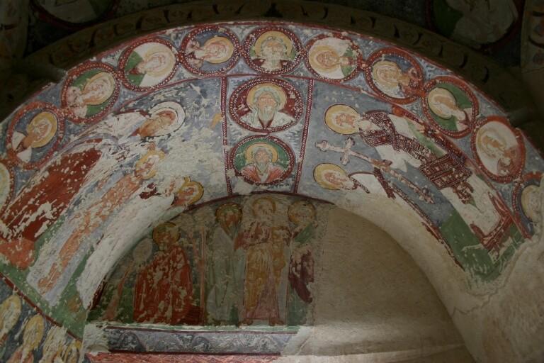 Фрески церкви Эль Назар
