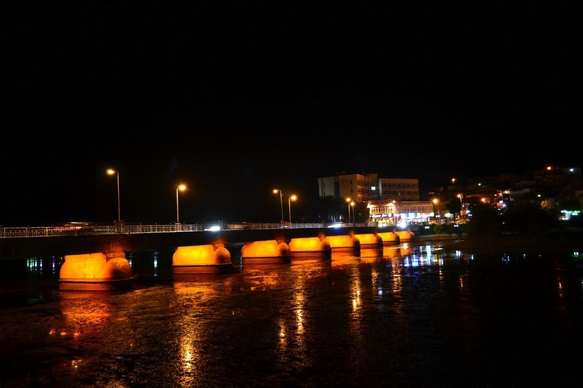 Летом река Кызылырмак мелеет