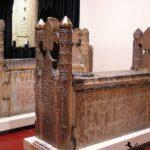 Деревянные надгробия Сельджукского периода 12 век
