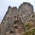 Скалы Каппадокии весной