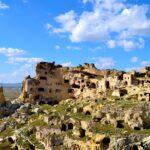 Бывшая скальная деревня - Чавушин