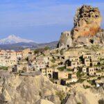 Ортахисар и гора Эрджиес весной
