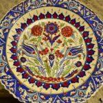 Тарелка с османскими мотивами
