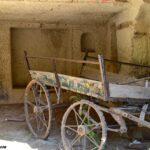 Телега в скальном гараже