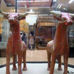 Церемониальные сосуды в форме быков. 16 в. до н.э.