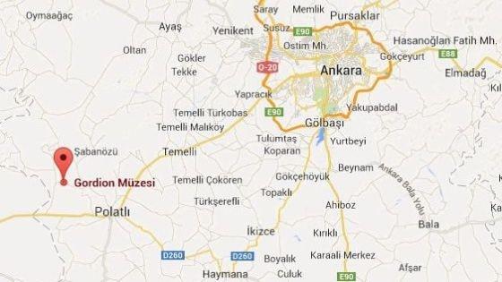 Столица Фригии Гордион - 90 км от Анкары