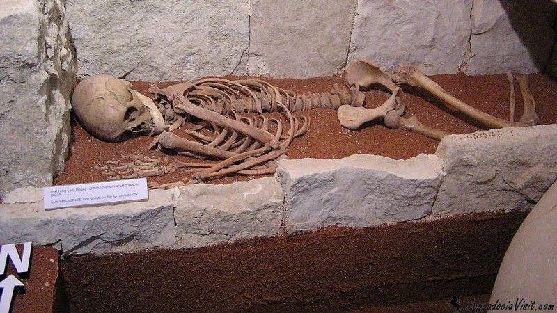 Находки из древнего похоронения в Гордионе