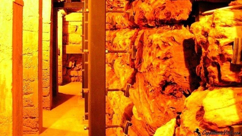 Погребальная камера гробницы Мидаса
