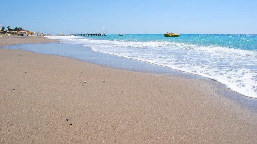 Отдых в Белеке - Пляж Белека