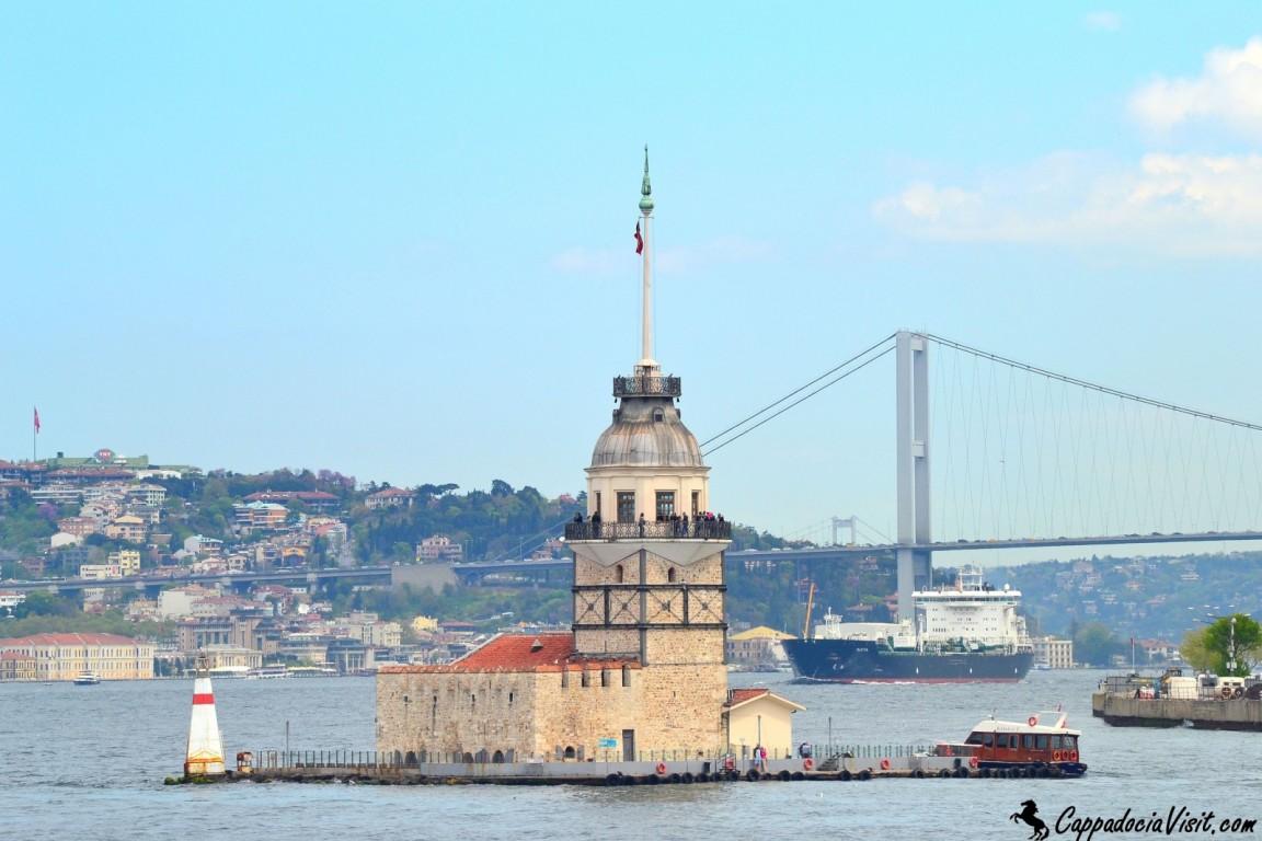 Девичья башня и Босфорский мост