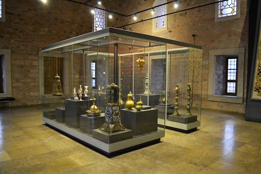 Экспонаты музея Турецкого и Исламского Искусства