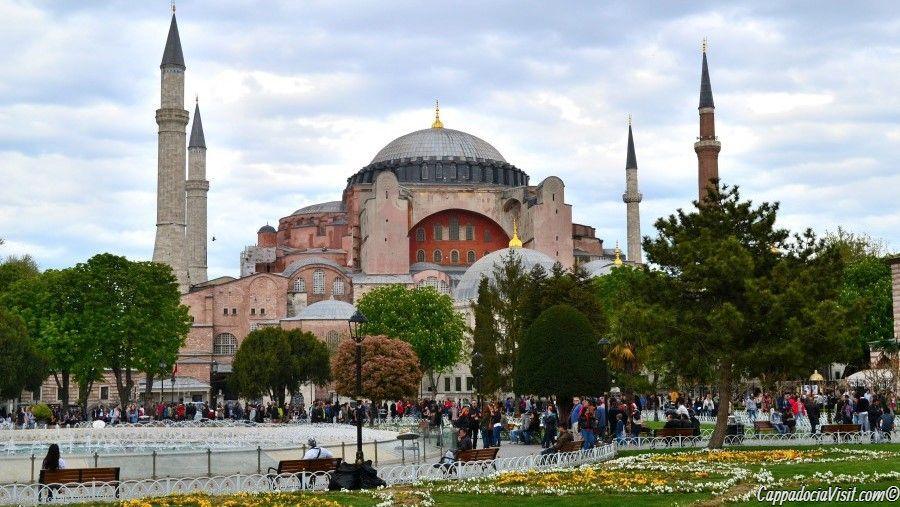 Собор Святой Софии в Стамбуле — Айя-София