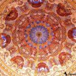 Купол большого зала Долмабахче