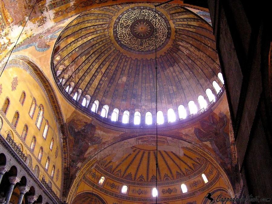 Купол Айя-Софии в Стамбуле