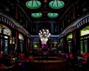 Необычные Отели Стамбула - Интериор отеля Pera Palace