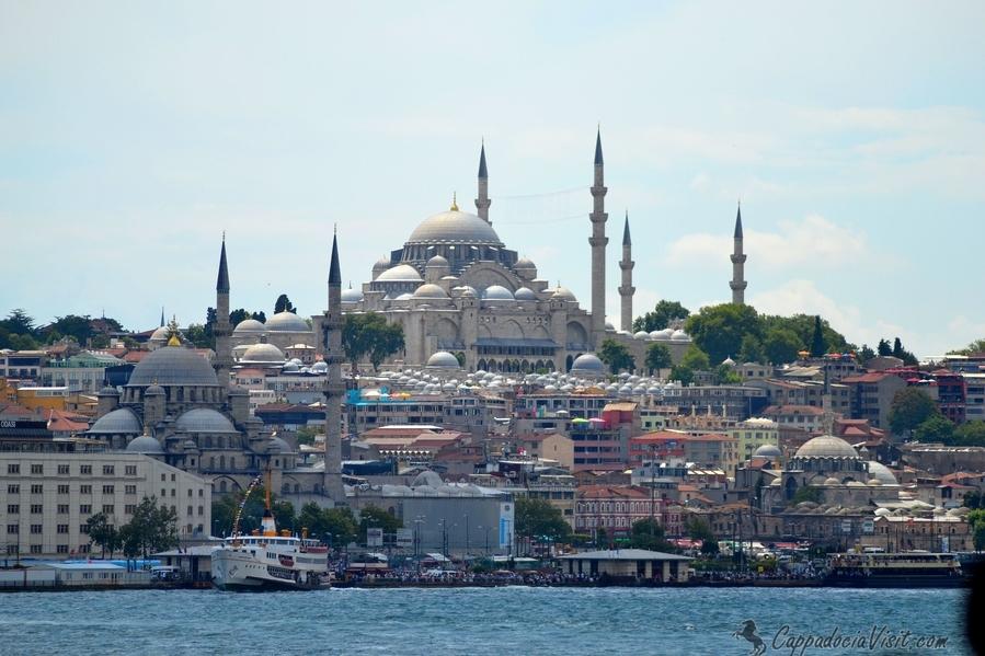 Сулеймание, возведена знаменитым османским архитектором Синаном