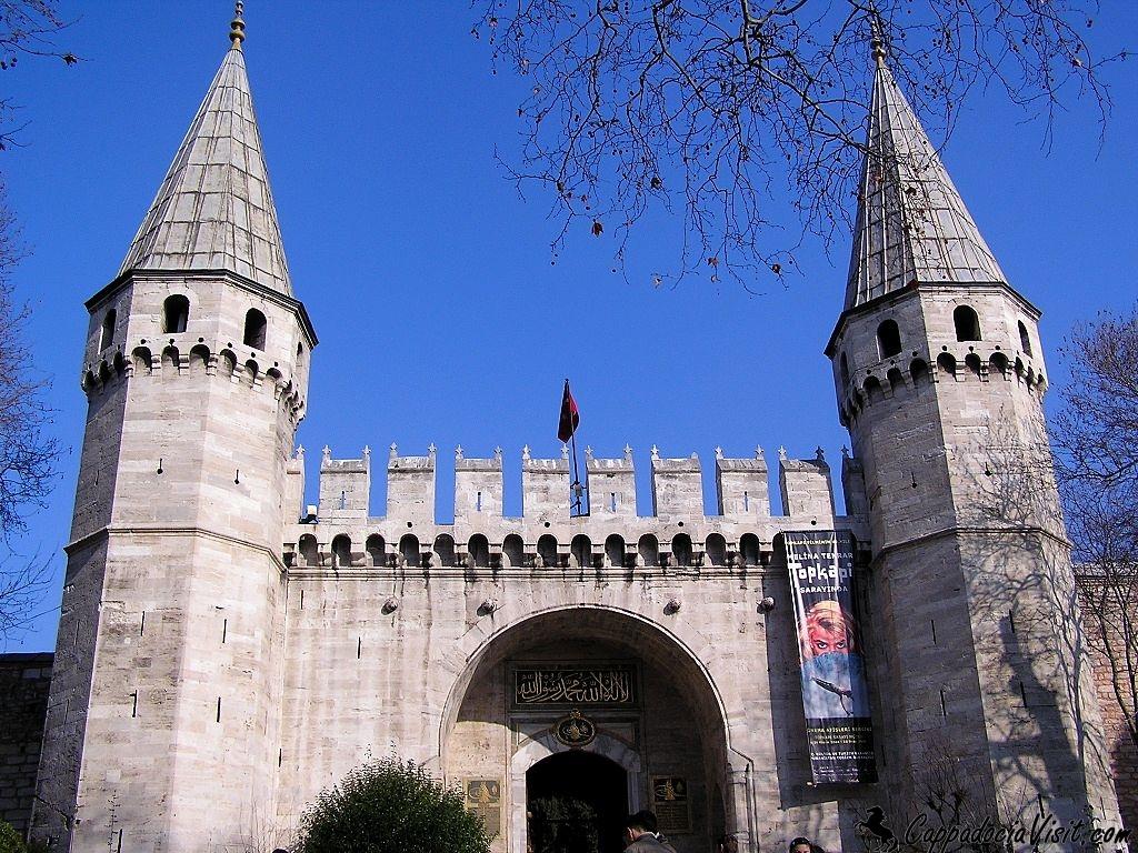 Ворота Приветствия - Вход во Второй Двор