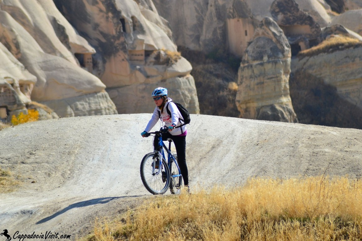 Прогулка на велосипеде в Каппадокии