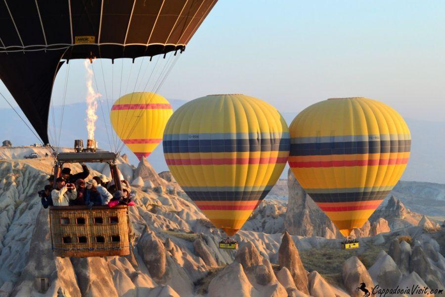 Полет на воздушном шаре Каппадокией