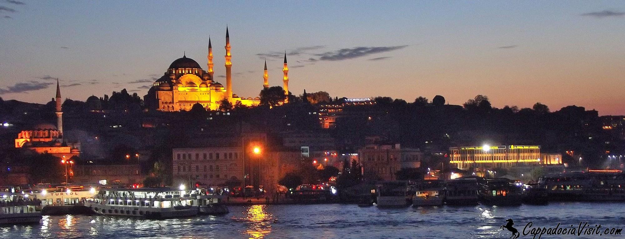 Мечеть Сулеймана Великолепного при закате