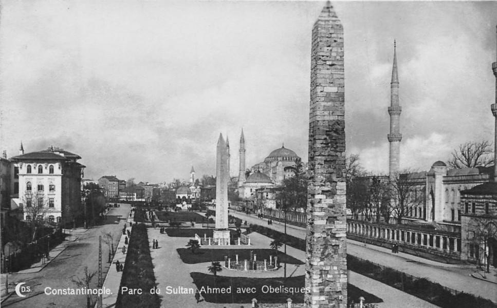 Площадь Султанахмет (1920-е годы)