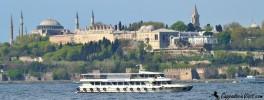 Дворец Топкапы - Вид с Босфора