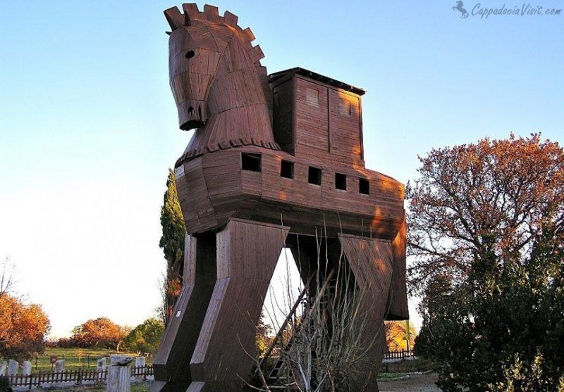 Троянский конь - символ Трои