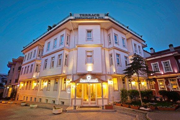 Отель на тихой улице в Султанахмете, всего в 100 метрах от Голубой мечети