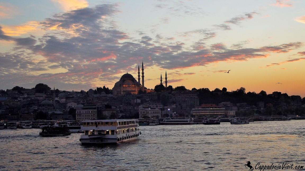 Мечеть Сулеймана Великолепного в Стамбуле