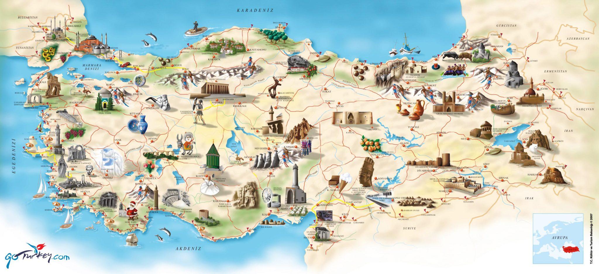 Достопримечательности Турции на ТуристерРу Фото и описание