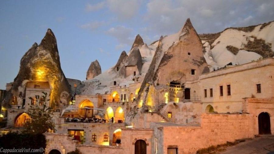 Вид отеля Anatolian Houses — Гёреме