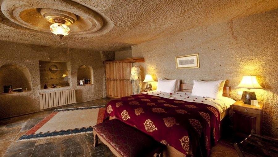Пещерные отели Каппадокии -Номер в отеле Museum в городе Учхисар
