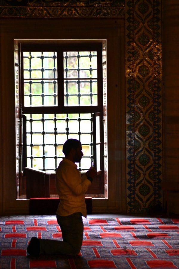 Молитва в мечети Селимие