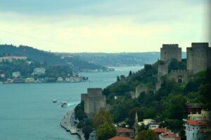 Босфорский пролив и крепость Румели Хисары