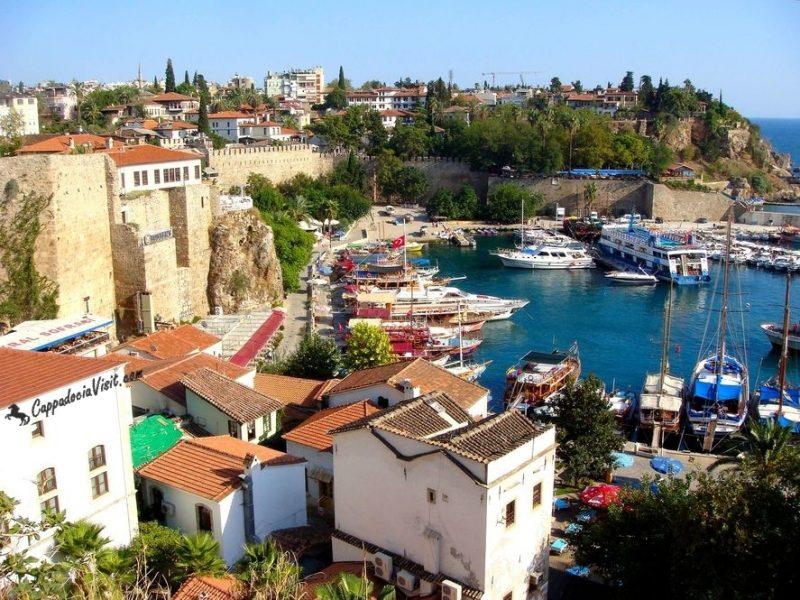 Анталия – старый город и бухта