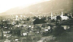 Город Бурса в начале 1900-х