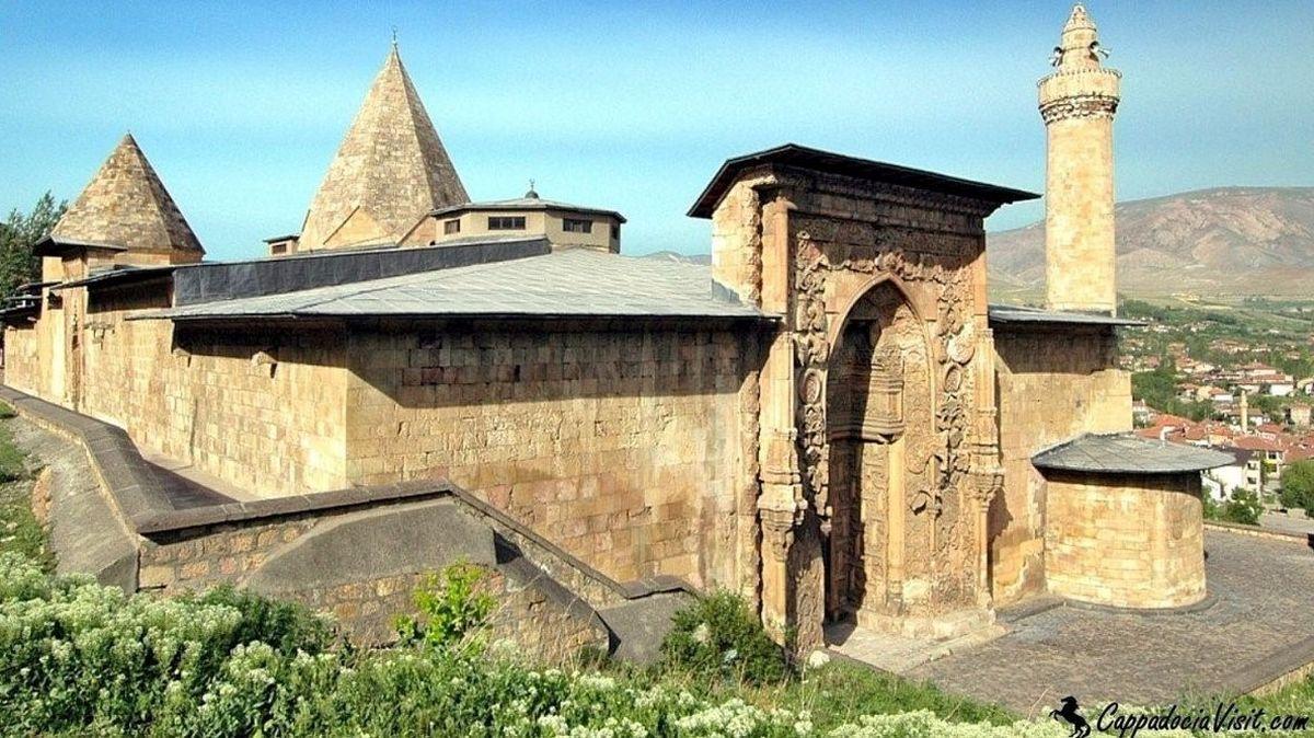 Мечеть Улу и госпиталь в городе Дивриги (Сивас)
