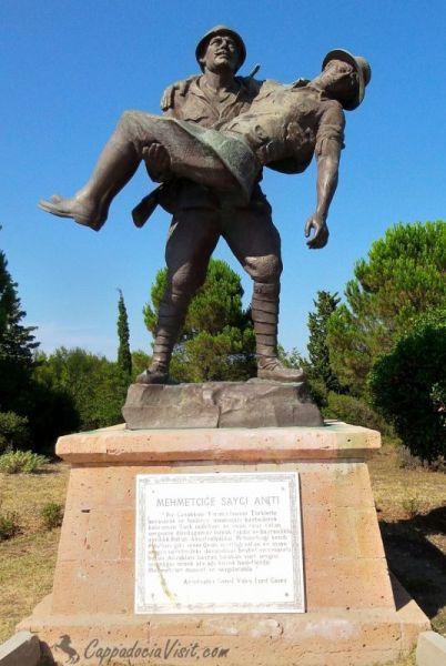 Памятник солдатам противоборствующих сторон
